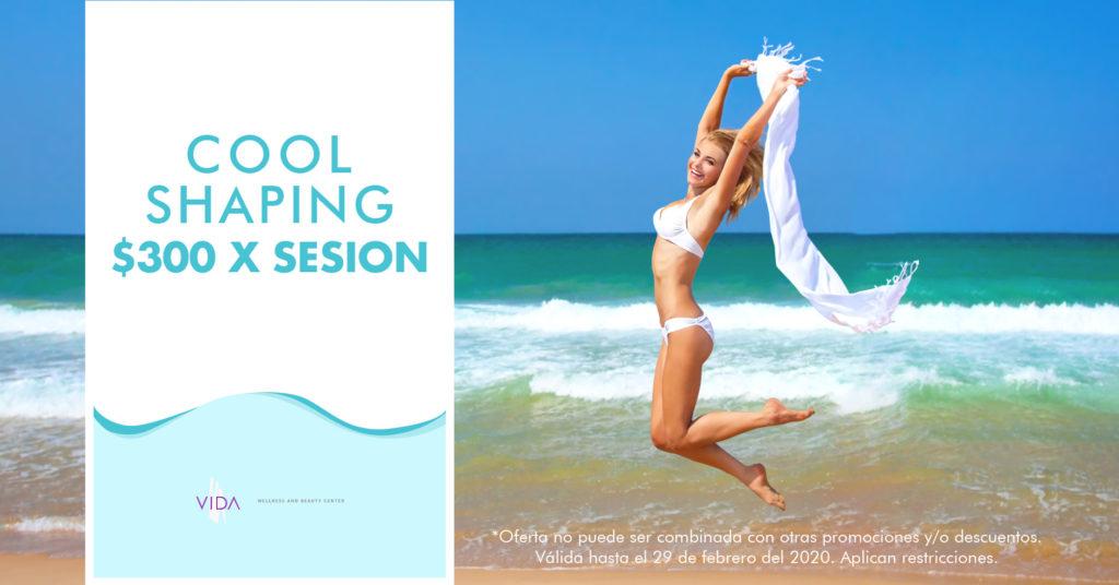 coolshaping, spa, medispa, salud, belleza, contorno corporal